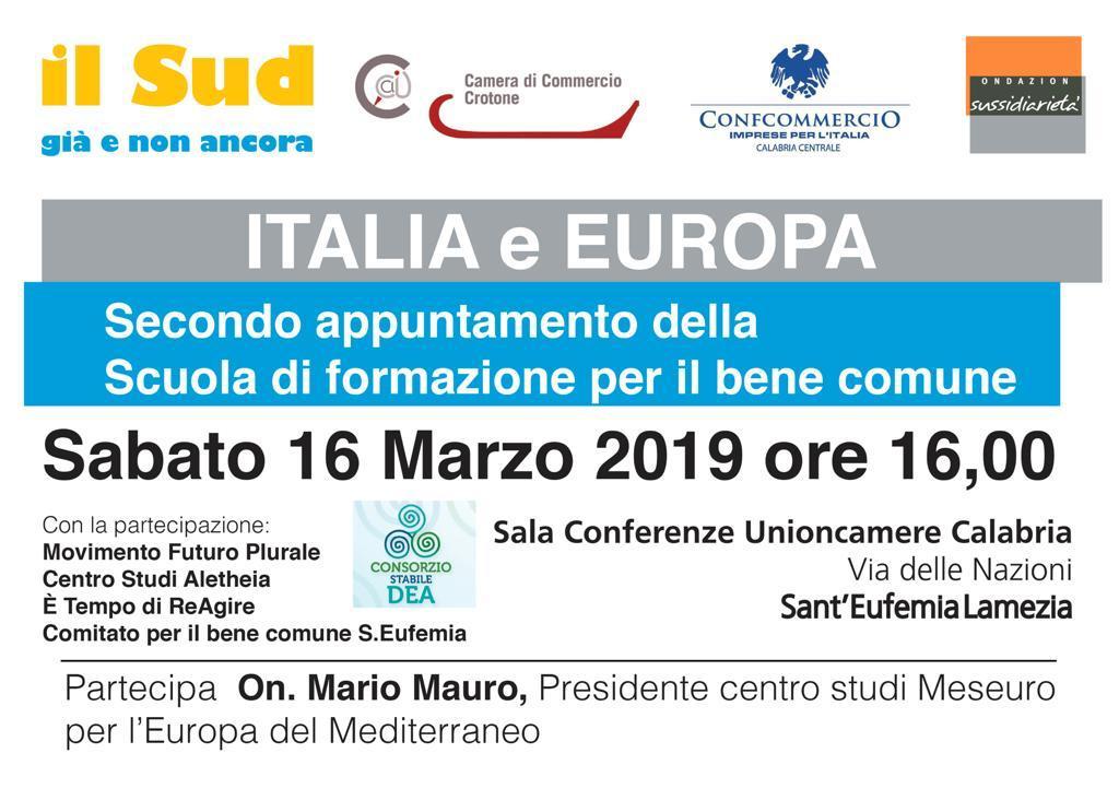 Italia e Europa 16 mar