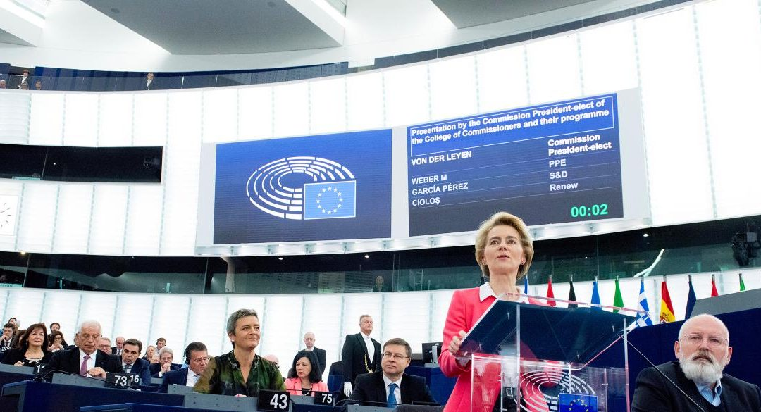 La nuova Commissione Europea targata Von der Leyen