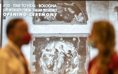 'Il tempo della guarigione': G20 Interfaith Forum
